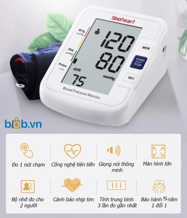 máy đo huyêt áp bắp tay