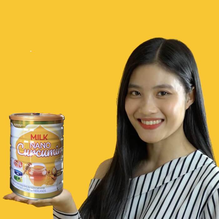 Sữa nghệ hà lan nanocurcumin
