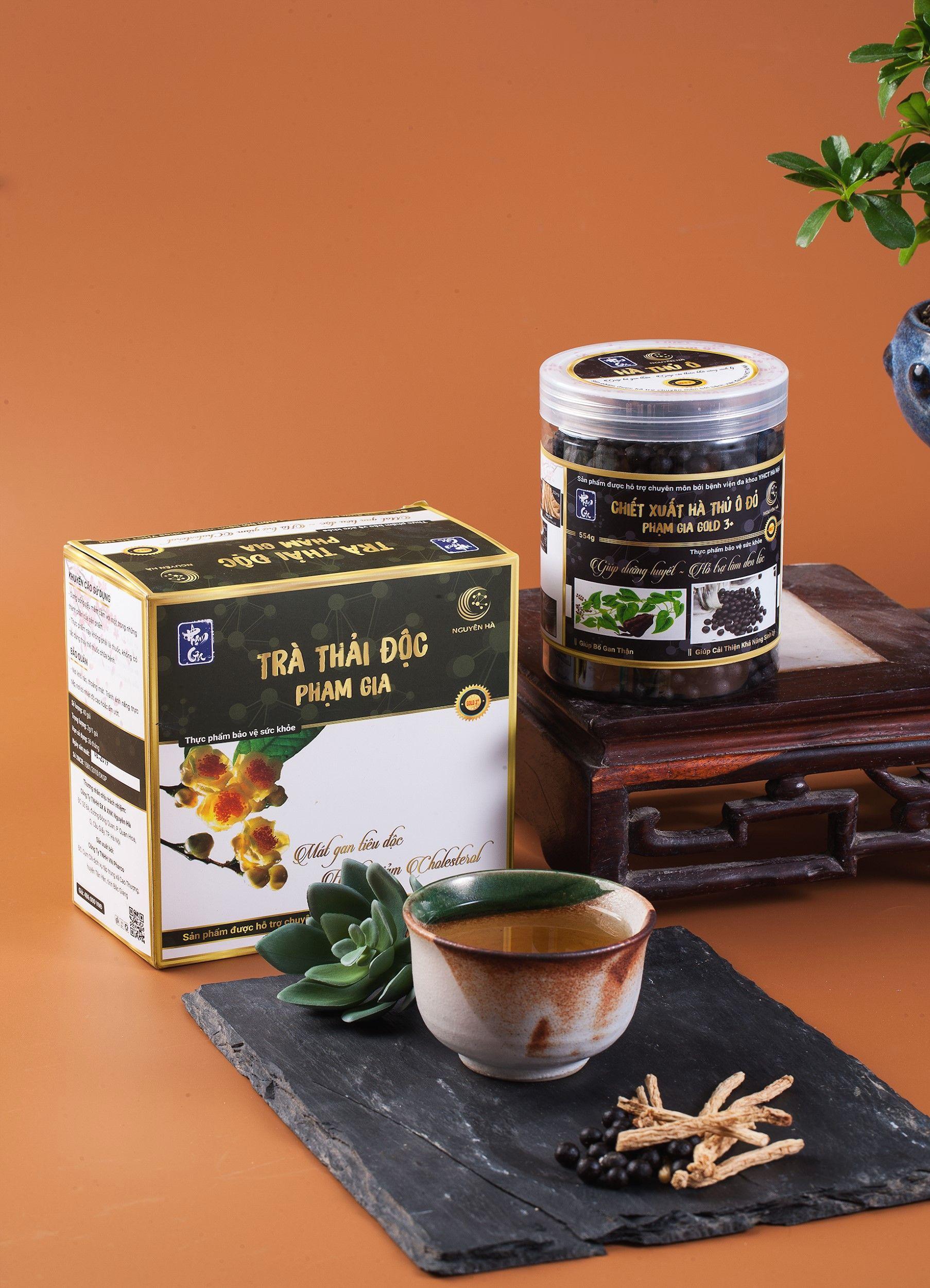 trà thải độc phạm gia
