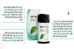 Công dụng detoxic nga