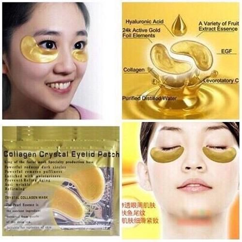 Mặt nạ collagen giúp da thư giãn sau một ngày lao động và học tập mệt mỏi.