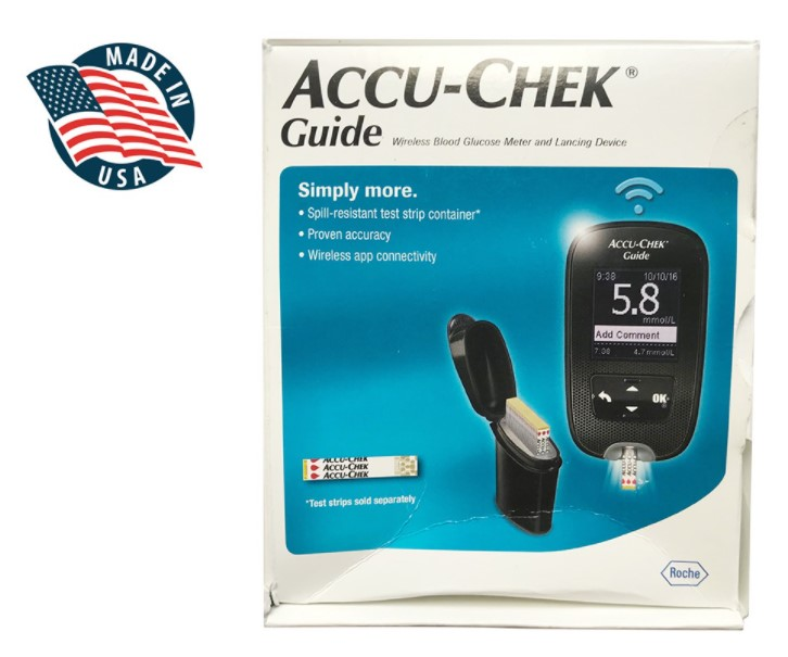 Máy đo đường huyết Accu-Chek Guide